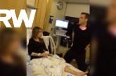 Robbie Williams Helping Ayda